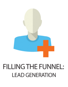 filling the funnel lead generation