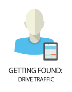 getting found drive traffic