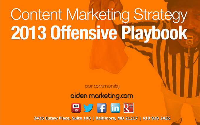 Free Content Marketing Strategy Ebook