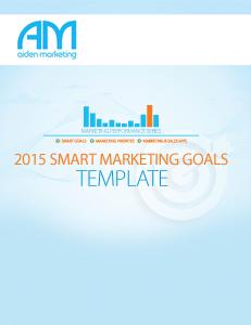 marketing goals