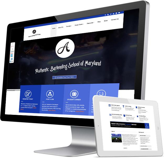 school website redesign silver springs md