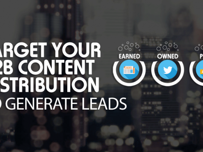 Target Your B2B Content Distribution to Generate Leads
