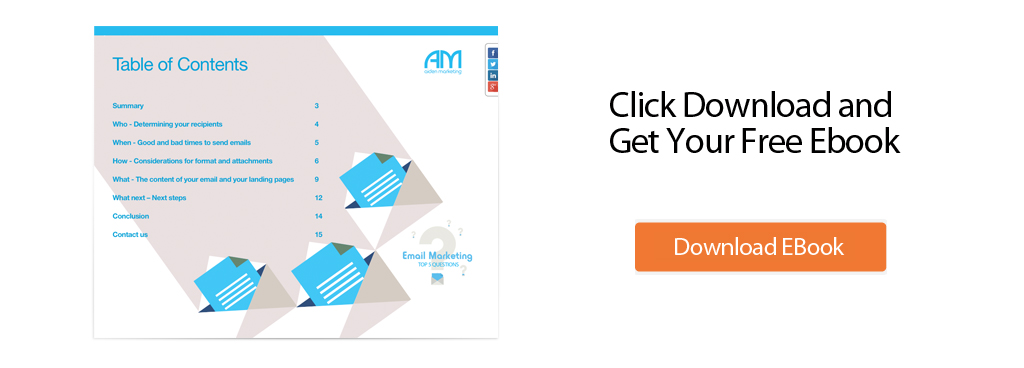 email marketing top 5 questions whitepaper