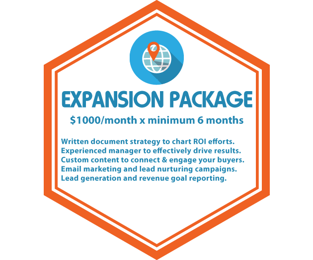social media management pricing expansion package