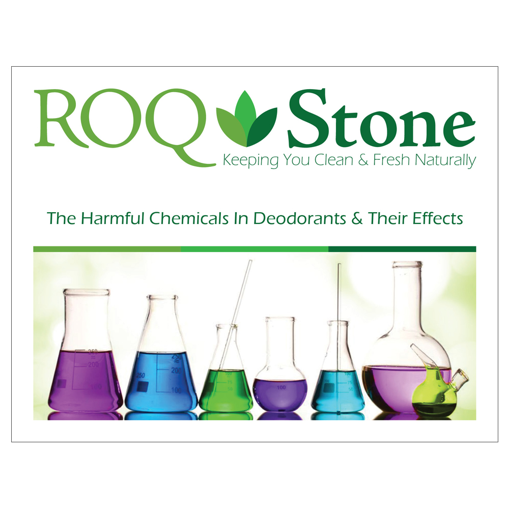 Roq Stone - The Harmful Chemicals In Deodorants and Their Effects