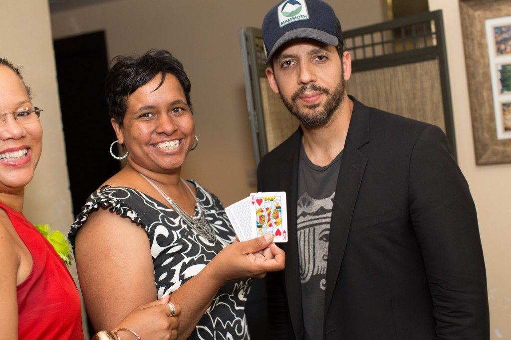 Stacie Price and David Blaine