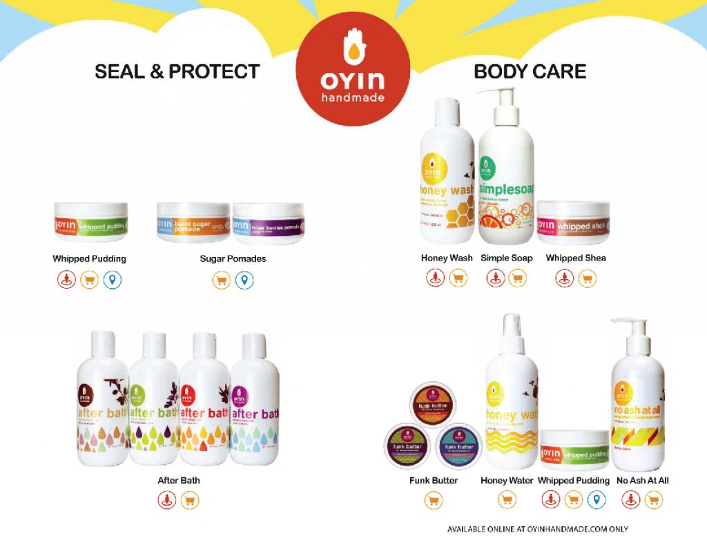OYIN Handmade Full Product Line