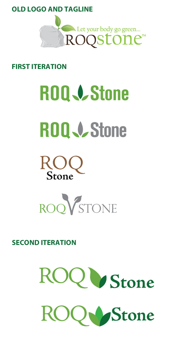 ROQ-Stone-Logo-Development